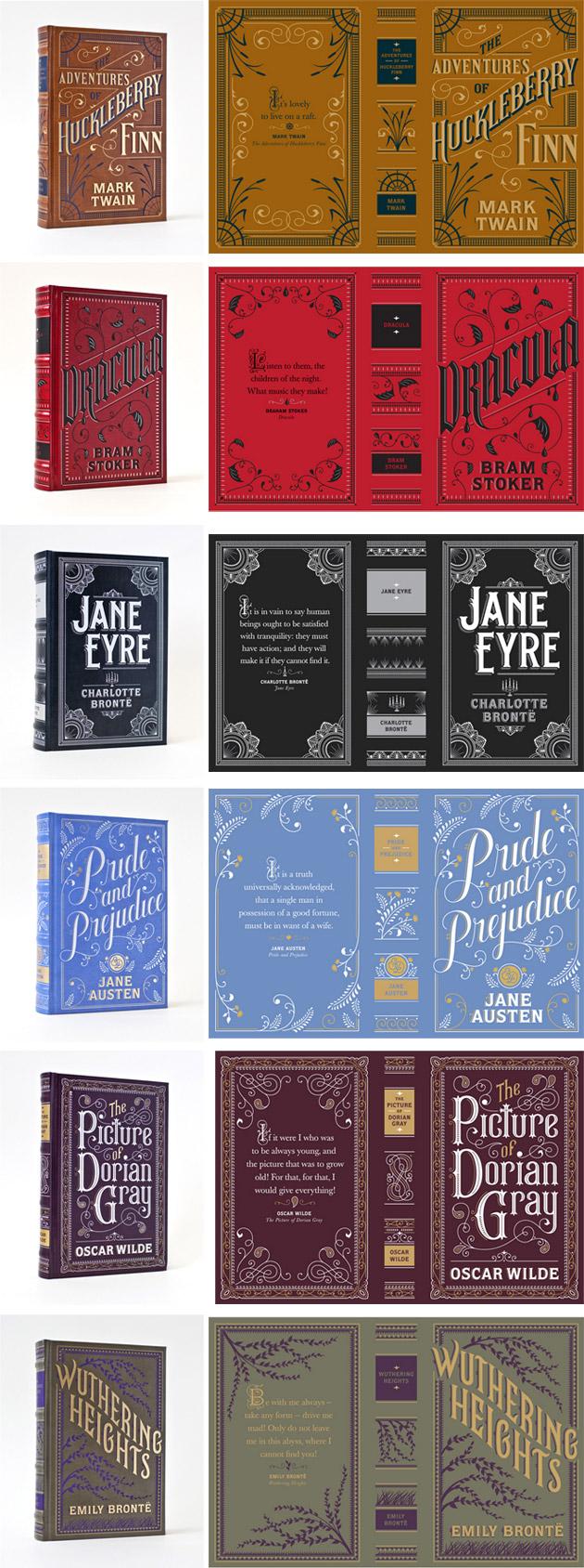 Barnes & Noble classics by Jessica Hische