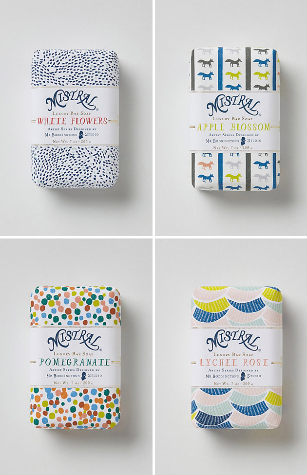 Packaging Jabón, Mr. Boddington's Mistral Soap by Mr. Boddington's Studio