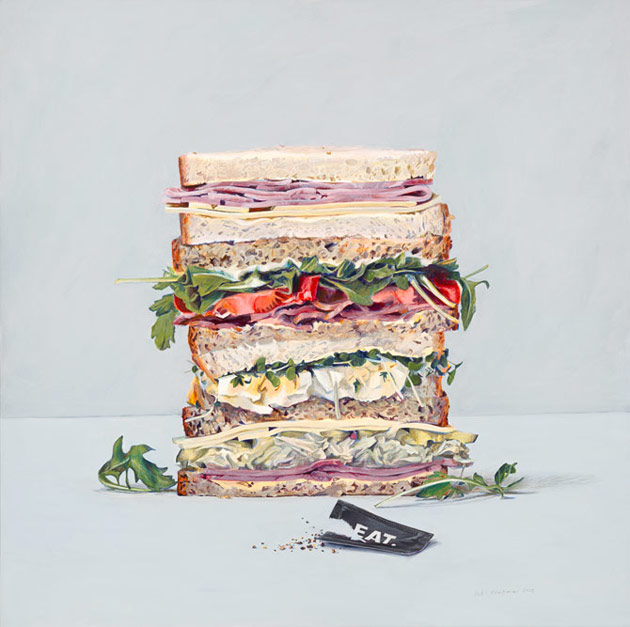 Eat sandwiches by Penkman