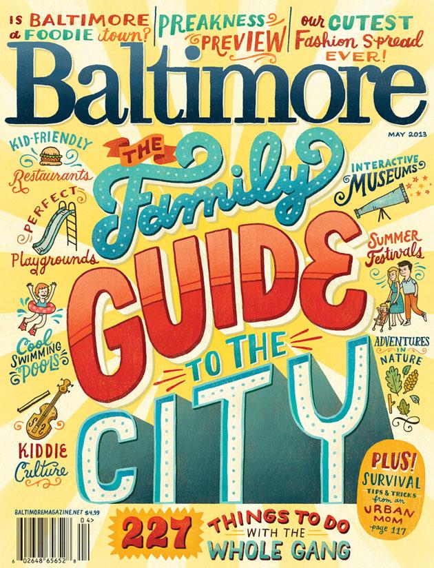 Baltimore Magazine Cover by Mary Kate McDevitt