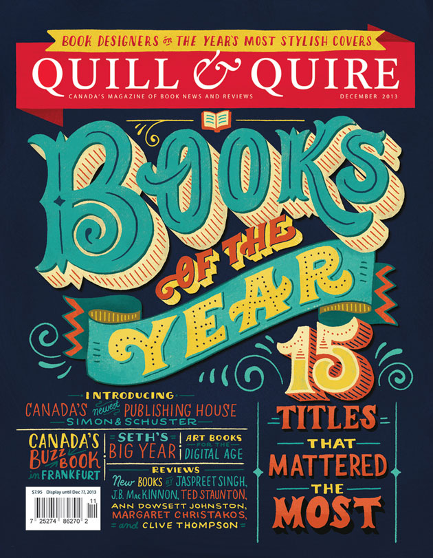 Quill & Quire Cover by Mary Kate McDevitt