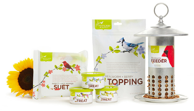 Packaging animales - pets - Pacific Bird