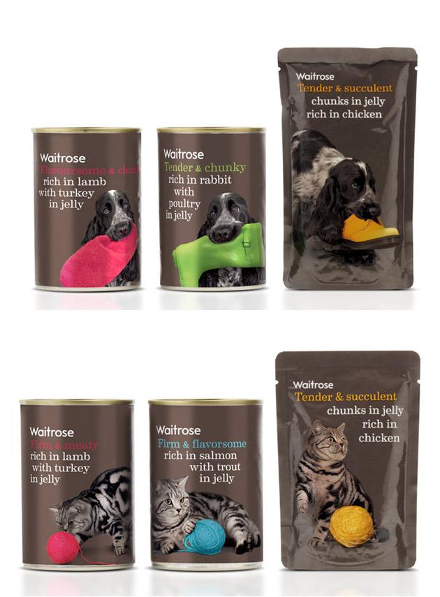 Packaging animales - pets - Waitrose