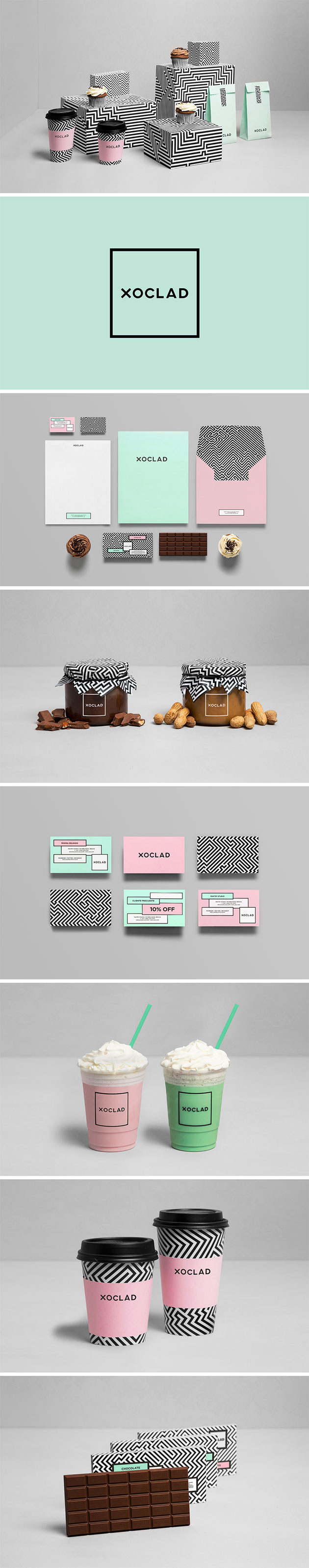 Xoclad branding by Anagrama