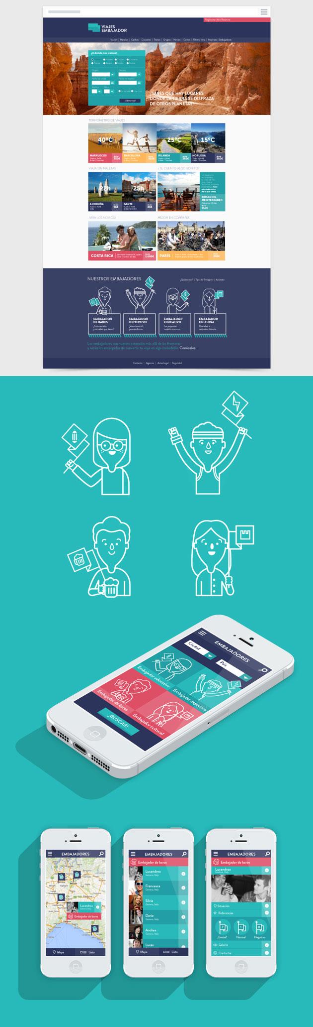 Bienvenidos al mundo - Inspiración web design