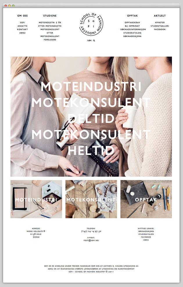 SOFI - Inspiración web design