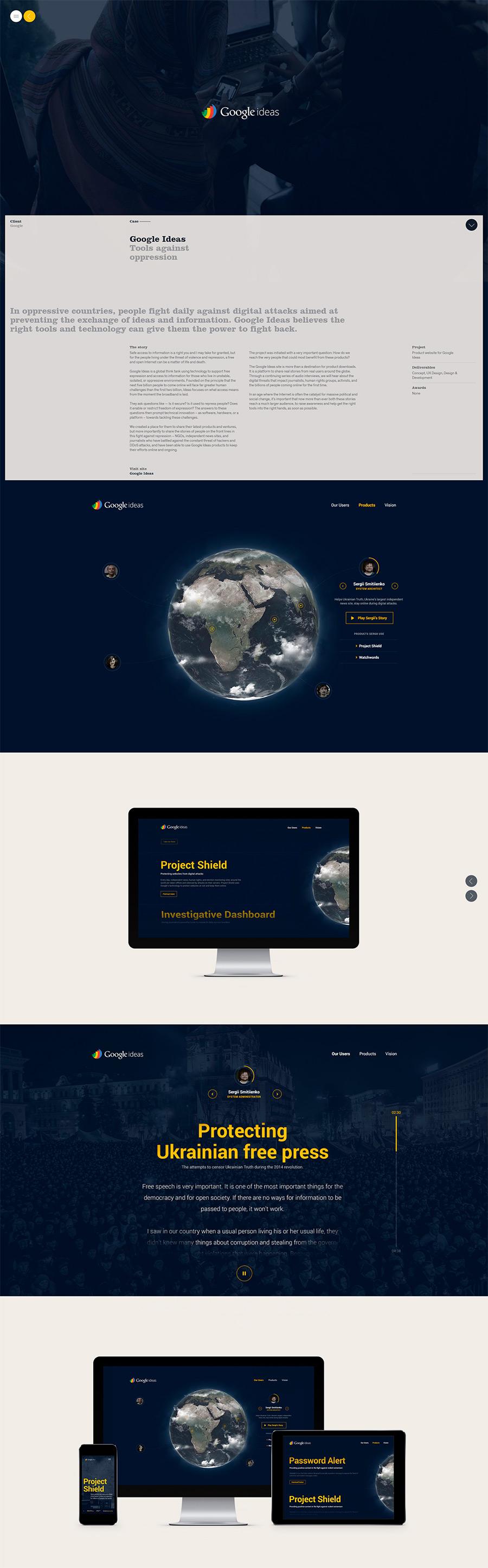 Hello Monday - Inspiración web design