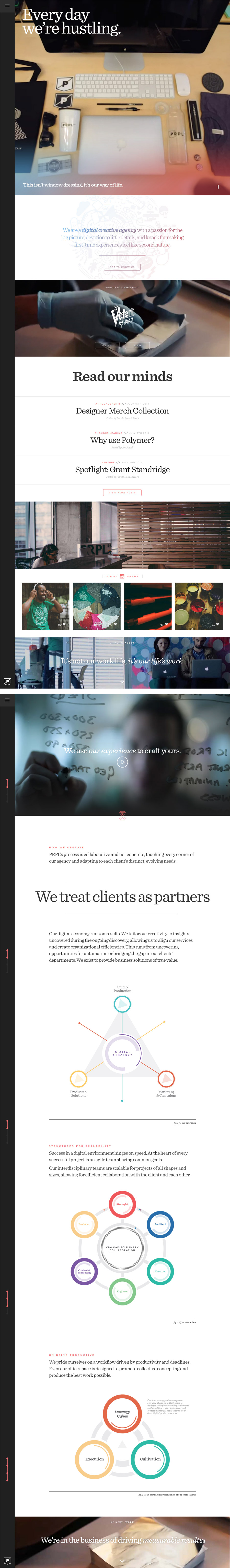PRPL - Inspiración web design