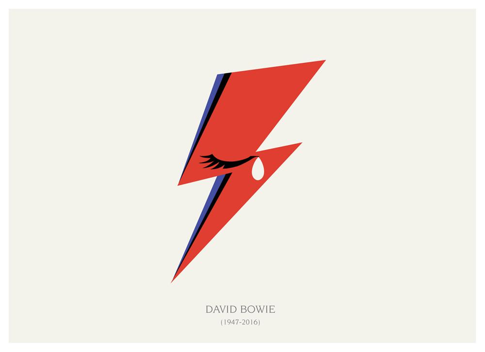 R.I.P. Bowie by Barletta