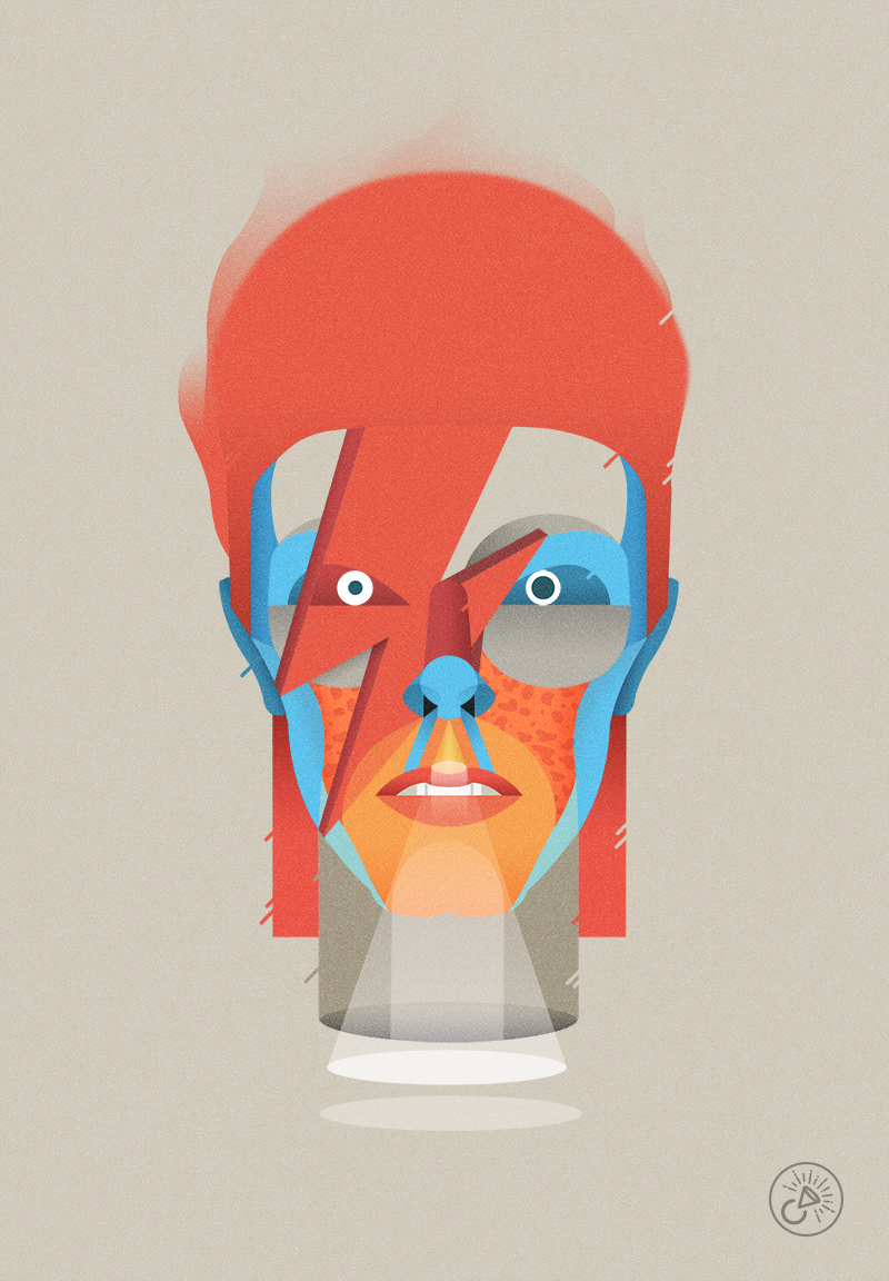 Bowie tribute by Casmic LAB