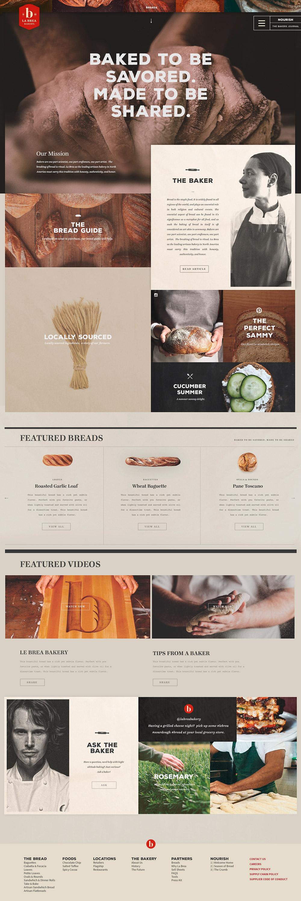 Bread Comp by Nick Franchi - Los websites de la semana 4# 02/2016