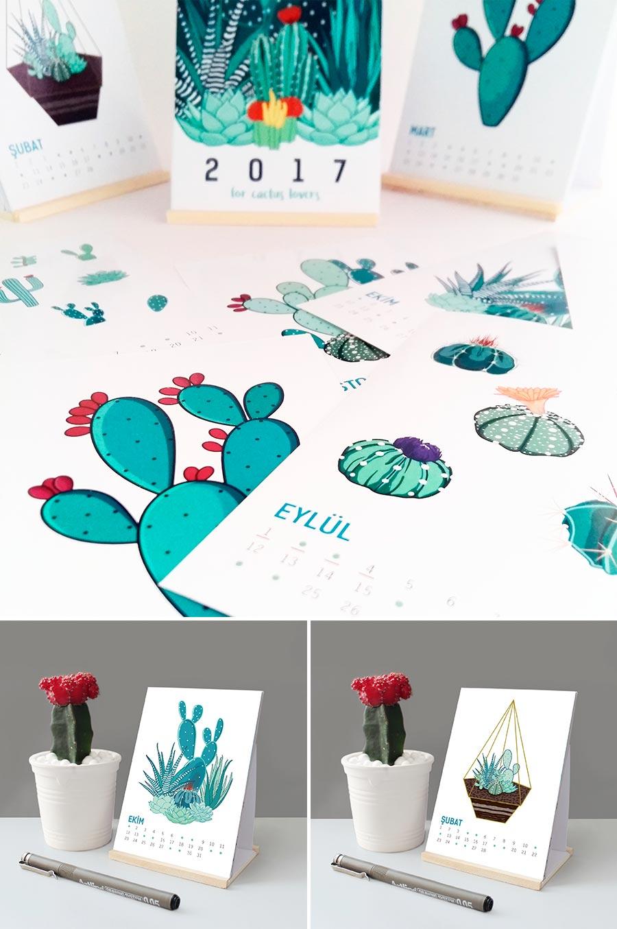 Desk Calendar by tugba bayislan
