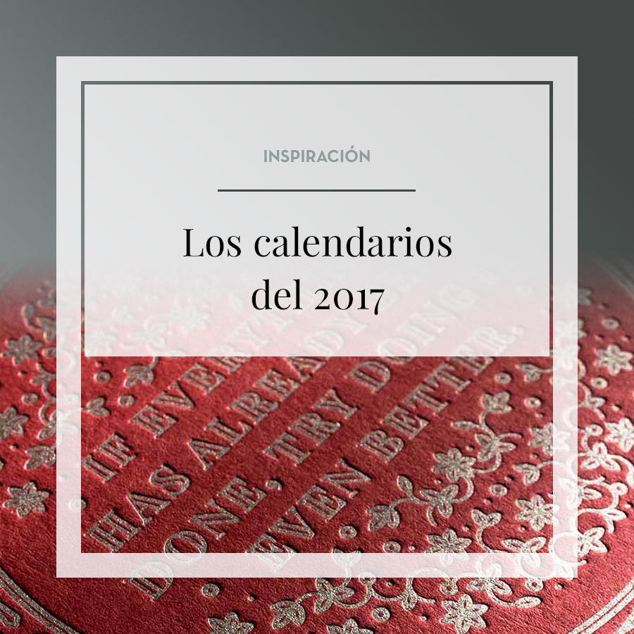 Los mejores calendarios de 2017