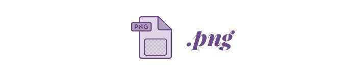 Tipo de archivo .png