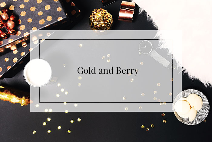 Gold and Berry