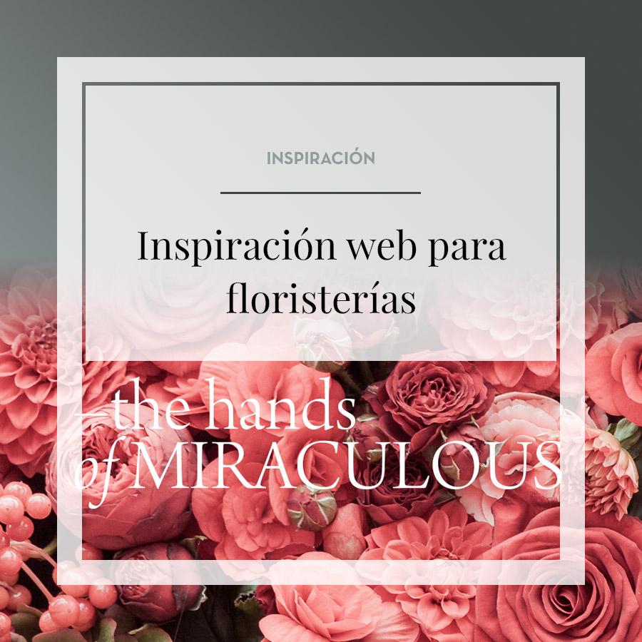 Inspiración webs para floristerías