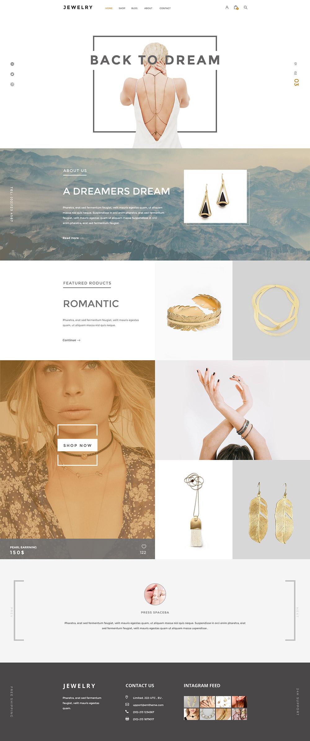 Jewelry- webs para joyerías