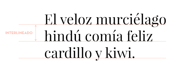 Interlineado