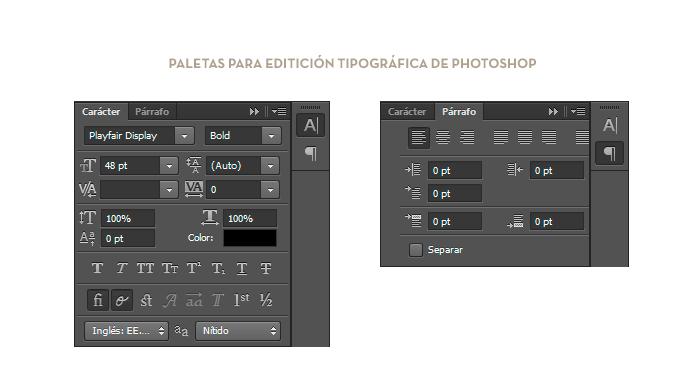 Paletas de Photoshop