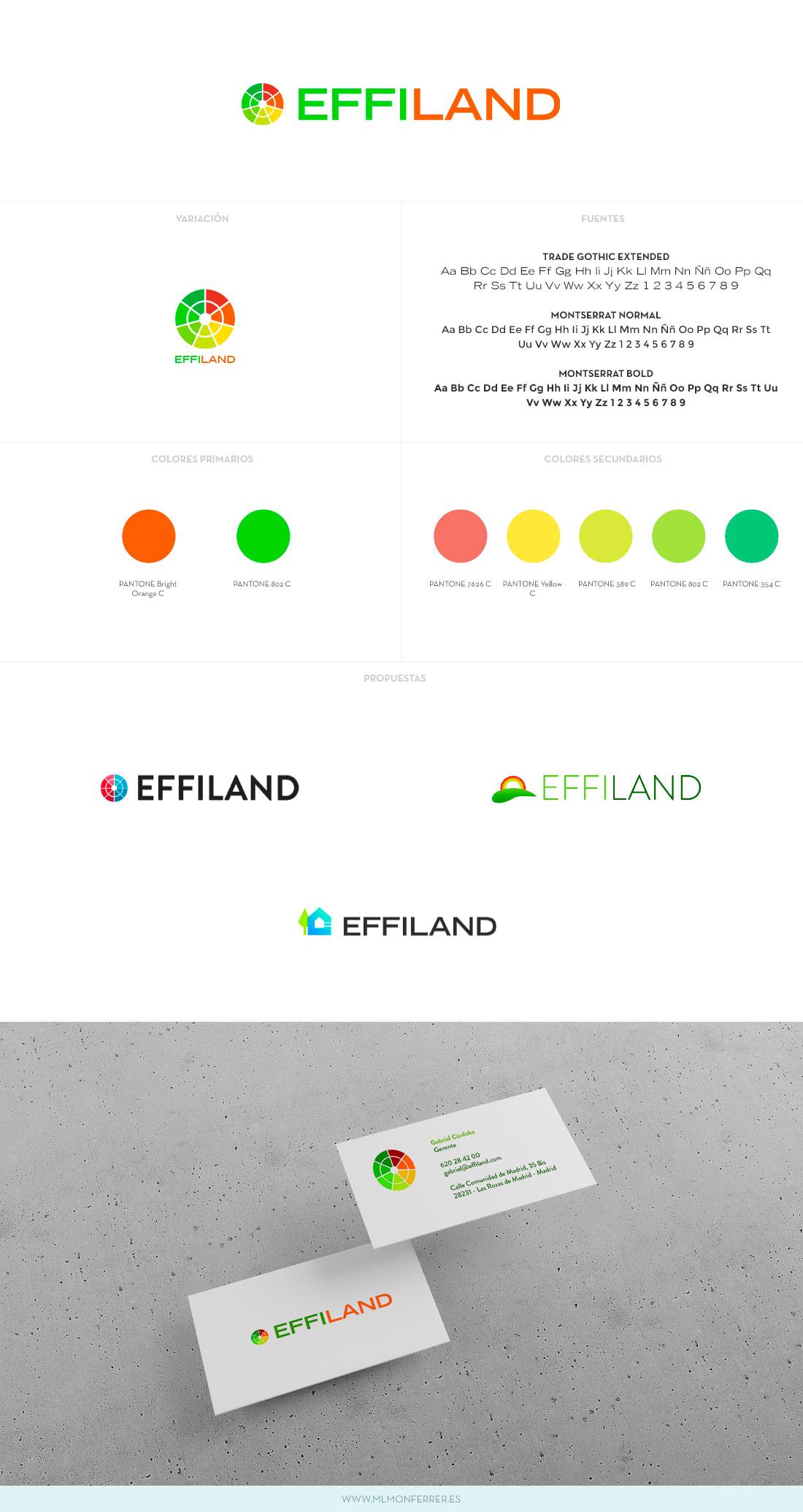 Logotipo Effiland
