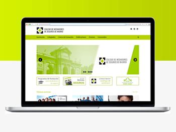 Web Colegio de Mediadores de Seguros de Madrid