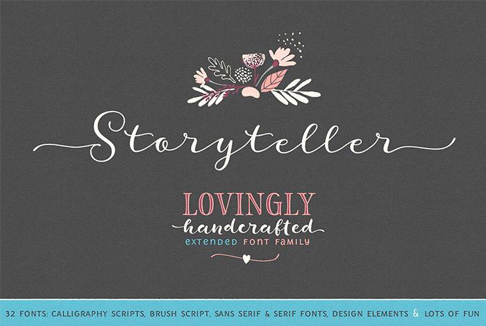 Fuente Storyteller