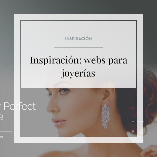 Inspiración. Webs para Joyerías