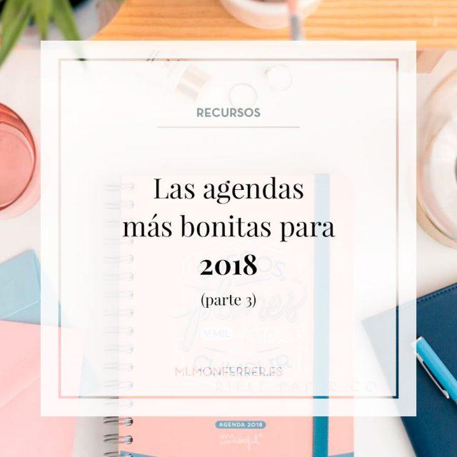 Las agendas mas bonitas 2018 parte 3