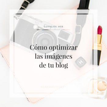 Cómo optimizar imágenes de tu blog