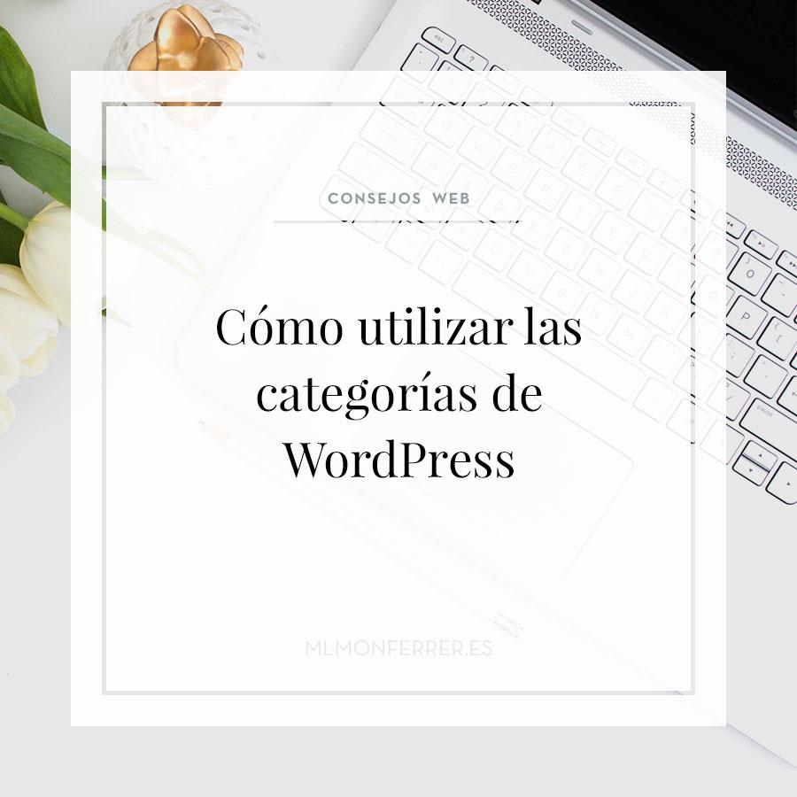 Como utilizar las categorías de WordPress