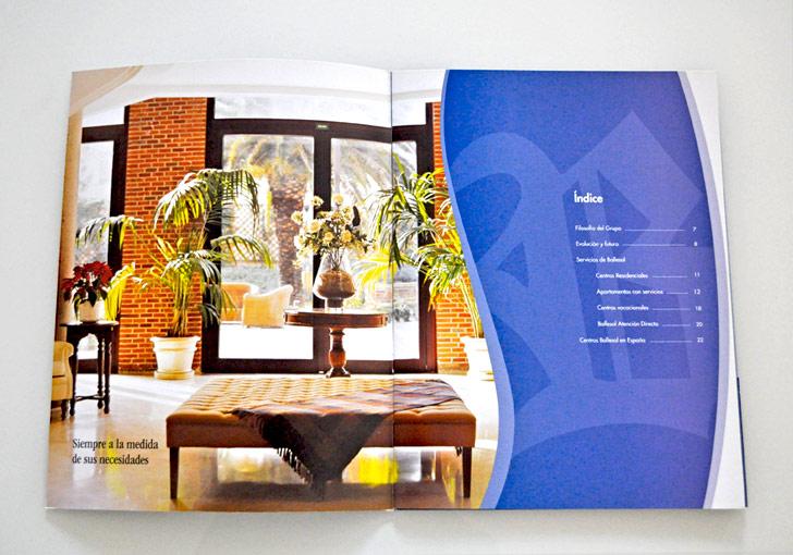 Catálogo de servicios de Ballesol