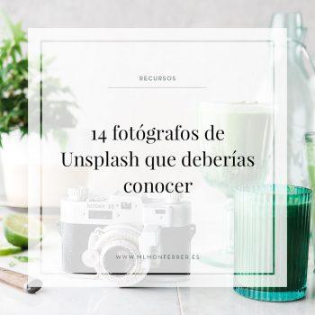 14 fotógrafos de Unsplash que deberías conocer