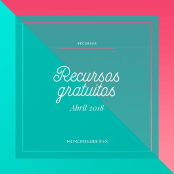 15 recursos para diseño gratis de abril