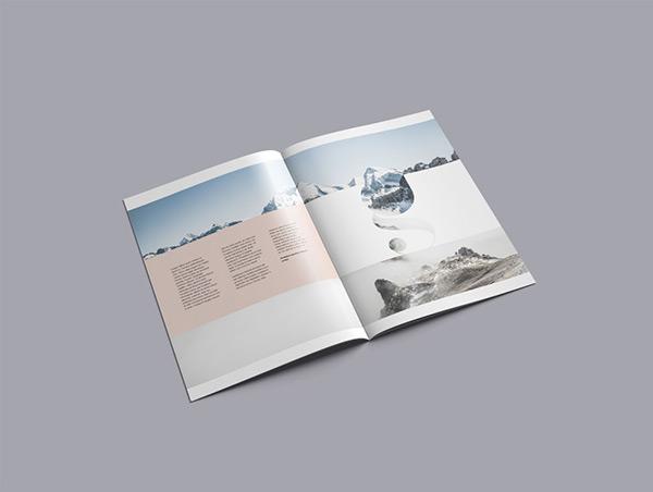 A4 Brochure Mockup (PSD)   Recursos gratuitos de mayo para diseñadores