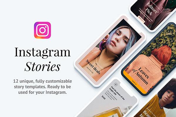 Napali: 12 Instagram Story Templates   Recursos gratuitos de mayo para diseñadores