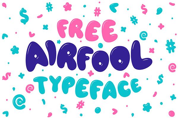 Fuente  Airfool Typeface     Recursos gratuitos de mayo para diseñadores