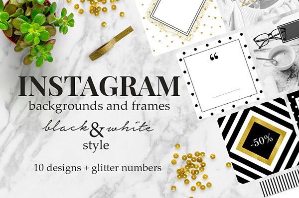 Noir Beauty Instagram Stories   Recursos gratuitos de mayo para diseñadores