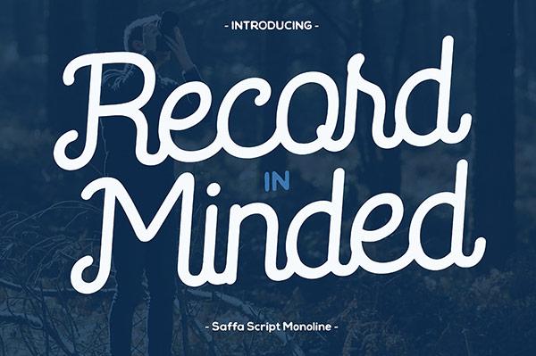 Fuente Saffa Script Monoline     Recursos gratuitos de mayo para diseñadores