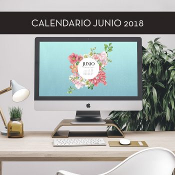 Calendario descargable de junio de 2018